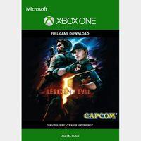 Resident Evil 5 (Xbox One) Xbox Live Key UNITED STATES