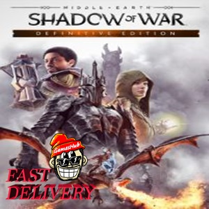 Middle-earth: Shadow of War Definitive Edition ✅[STEAM][CD KEY][REGION:GLOBAL][DIGITAL DELIVERY FAST AND SAFE]✅