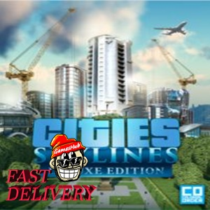 Cities: Skylines Deluxe Edition Steam Key GLOBAL