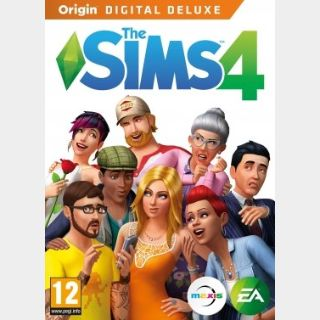 The Sims 4 Deluxe Edition (PC) Origin Key GLOBAL