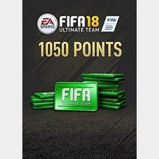 FIFA 18: 1050 FUT points (PC) Origin Key GLOBAL