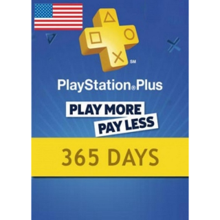 Playstation Plus CARD 365 Days PSN UNITED STATES