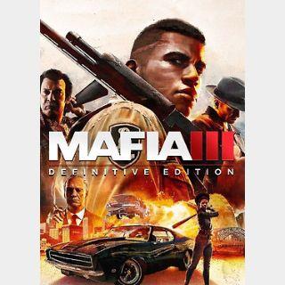Mafia III: Definitive Edition (PC) Steam Key GLOBAL