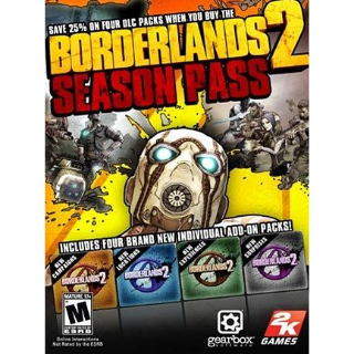 Borderlands 2 - Season Pass Steam Key GLOBAL