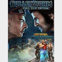 Bulletstorm: Full Clip Edition Duke Nukem Bundle Steam Key GLOBAL