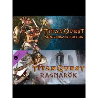 Titan Quest Anniversary + Ragnarok DLC Steam Key GLOBAL