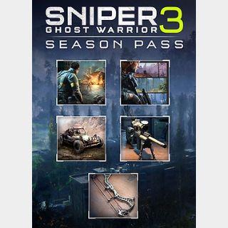 Sniper: Ghost Warrior 3 Season Pass (PC) Steam Key GLOBAL
