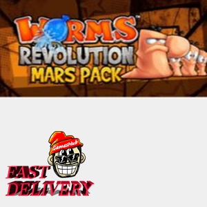 Worms Revolution - Mars Pack Key Steam GLOBAL