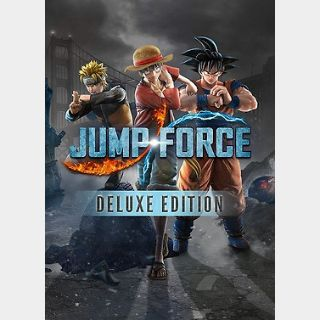 Jump Force Deluxe Edition (PC) Steam Key GLOBAL