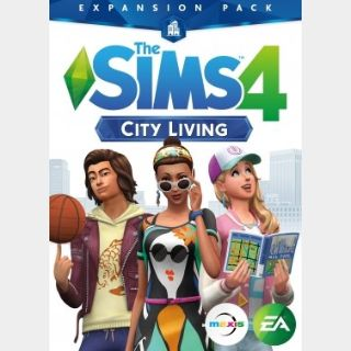 The Sims 4: City Living (PC) Origin Key GLOBAL