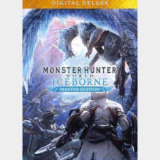 Monster Hunter: World - Iceborne Master Edition Digital Deluxe (PC) Steam Key GLOBAL