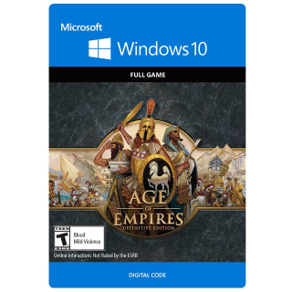 Age of Empires: Definitive Edition WINDOWS 10 Key GLOBAL