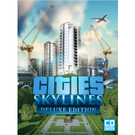 Cities: Skylines Deluxe Edition Steam Key GLOBAL[GamesHub][Fast Delivery]