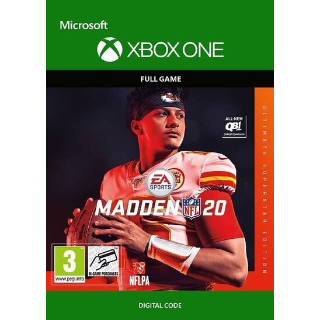 Madden NFL 20 (Ultimate Superstar Edition) (Xbox One) Xbox Live Key GLOBAL