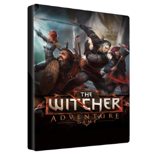 The Witcher Adventure Game GOG.COM Key GLOBAL