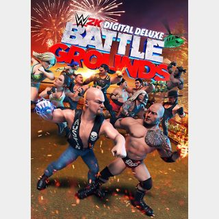 WWE 2K Battlegrounds Deluxe Edition (PC) Steam Key GLOBAL