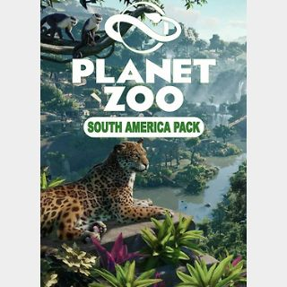 Planet Zoo: South America Pack (PC) Steam Key GLOBAL
