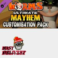 Worms: Ultimate Mayhem - Customization Pack Key Steam GLOBAL