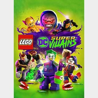 Lego DC Super-Villains (PC) Steam Key GLOBAL