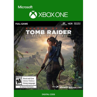 Shadow of the Tomb Raider (Definitive Edition) (Xbox One) Xbox Live Key GLOBAL
