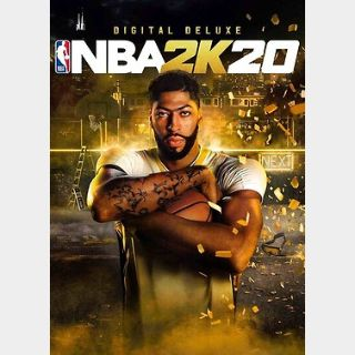 NBA 2K20 Deluxe Edition (PC) Steam Key GLOBAL