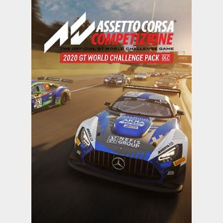 Assetto Corsa Competizione - 2020 GT World Chall (PC) Steam Key GLOBALenge Pack