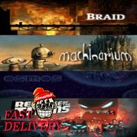 Braid + Machinarium + Osmos + Revenge of The Titans Steam Key GLOBAL