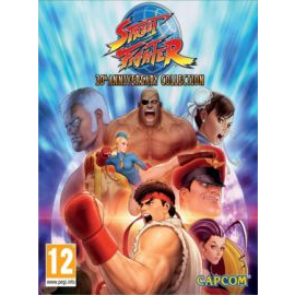 Street Fighter 30th Anniversary Collection Steam Key EMEA