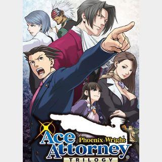 Phoenix Wright: Ace Attorney Trilogy (PC) Steam Key GLOBAL