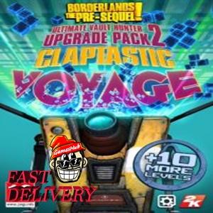 Borderlands: The Pre-Sequel - Claptastic Voyage and Ultimate Vault Hunter Upgrade Pack 2 Steam Key GLOBAL