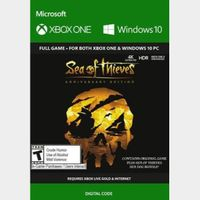 Sea of Thieves: Anniversary Edition (PC/Xbox One) Xbox Key GLOBAL