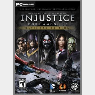 Injustice: Gods Among Us Ultimate Edition (PC) Steam Key GLOBAL