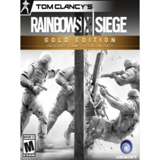 Tom Clancy's Rainbow Six Siege Year 3 Gold Edition Uplay Key EUROPE