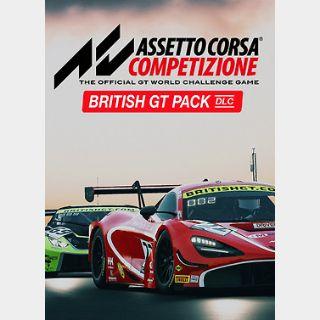 Assetto Corsa Competizione - British GT Pack (PC) Steam Key GLOBAL