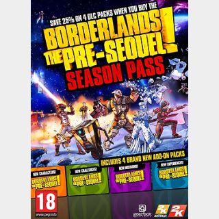 Borderlands: The Pre-Sequel: Season Pass