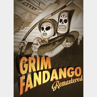 Grim Fandango Remastered (PC) Steam Key GLOBAL