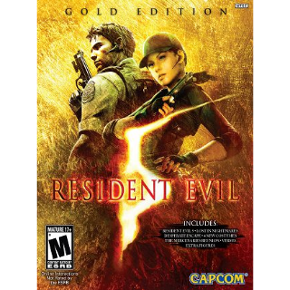 Resident Evil 5: Gold Edition Steam Key GLOBAL[Fast Delivery]