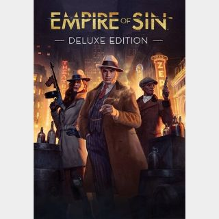 Empire of Sin - Deluxe Edition Steam Key GLOBAL