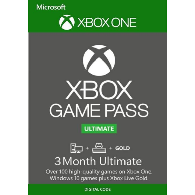 Ultimate Game Pass 3 Months XBOX LIVE Key XBOX ONE