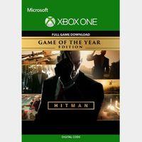 Hitman (GOTY) (Xbox One) Xbox Live Key UNITED STATES