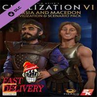 Civilization VI - Persia and Macedon Civilization & Scenario Pack Steam Key GLOBAL