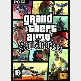 Grand Theft Auto: San Andreas (PC) Steam Key GLOBAL