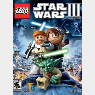 Lego Star Wars III: The Clone Wars (PC) Steam Key GLOBAL