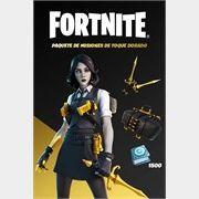 Fortnite: Golden Touch Mission Pack (Argentina region code)