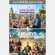 Lote Far Cry  5 Gold Edition + Far Cry® New Dawn Deluxe Edition