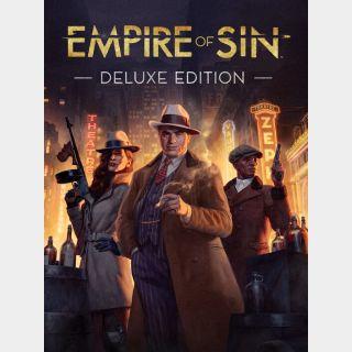 Empire of Sin: Deluxe Edition  (Argentina region code)
