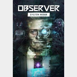 Observer: System Redux ( Argentina region code)