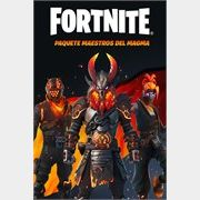 Fortnite - Magma Masters Pack( Argentina region)