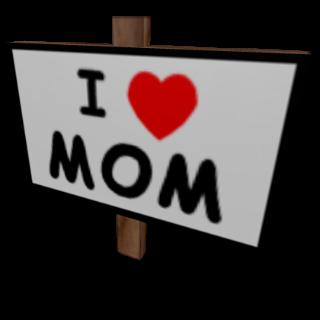 Limited | I Heart Mom Sign