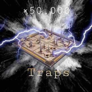 50k traps